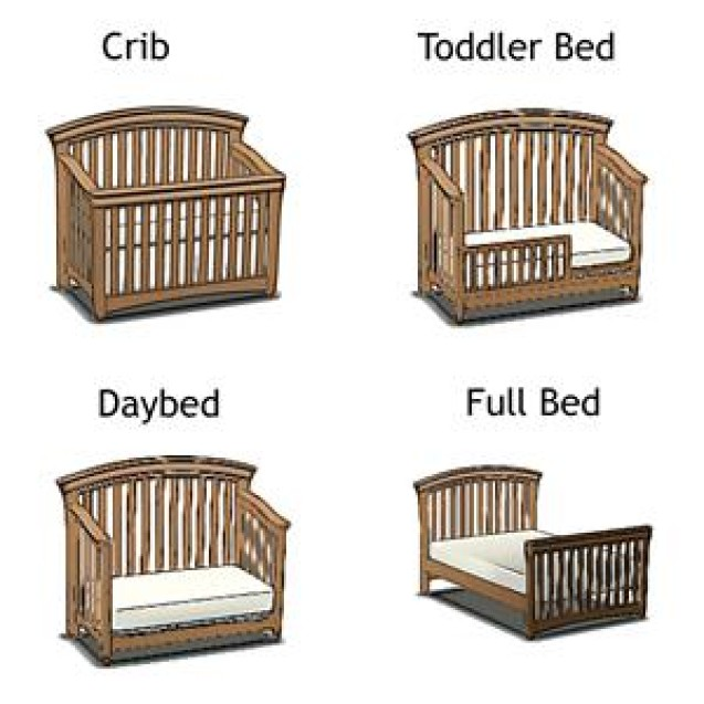 Stratton Convertible Crib Toddler Bed