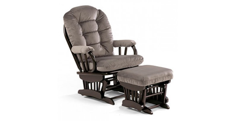"LAST CHANCE AT THIS PRICE....GOING UP DUE TO THE TARIFF   Best Chair ""Caldwell"" Glider + Bonus gliding Ottoman"