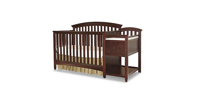 "BLACK FRIDAY SPECIAL - SALE NOW GOING ON  ""Montgomery""  Crib & Changer Combo"